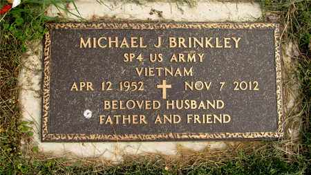 BRINKLEY, MICHAEL J. - Franklin County, Ohio | MICHAEL J. BRINKLEY - Ohio Gravestone Photos