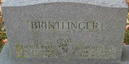 FLOWERS BRINTLINGER, GRACE - Franklin County, Ohio | GRACE FLOWERS BRINTLINGER - Ohio Gravestone Photos