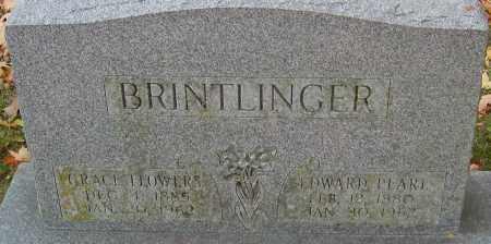 BRINTLINGER, GRACE - Franklin County, Ohio | GRACE BRINTLINGER - Ohio Gravestone Photos