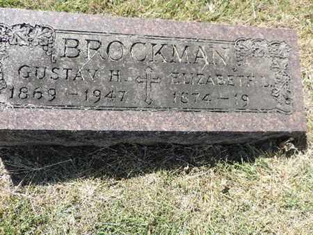 BROCKMAN, GUSTAV H. - Franklin County, Ohio | GUSTAV H. BROCKMAN - Ohio Gravestone Photos