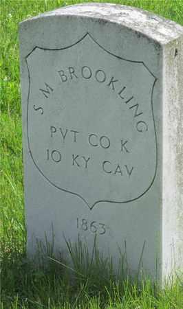 BROOKLING, S.M. - Franklin County, Ohio | S.M. BROOKLING - Ohio Gravestone Photos