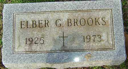 BROOKS, ELBER G - Franklin County, Ohio | ELBER G BROOKS - Ohio Gravestone Photos