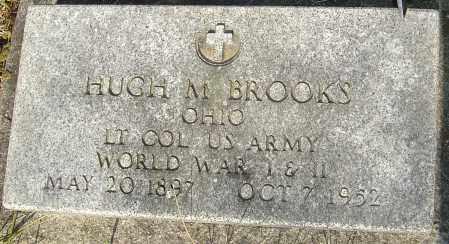 BROOKS, HUGH M - Franklin County, Ohio | HUGH M BROOKS - Ohio Gravestone Photos