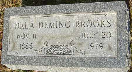 BROOKS, OKLA - Franklin County, Ohio | OKLA BROOKS - Ohio Gravestone Photos