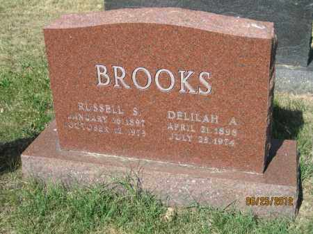 BROOKS, DELILAH A - Franklin County, Ohio | DELILAH A BROOKS - Ohio Gravestone Photos