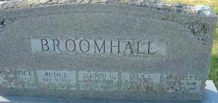 BROOMHALL, KENNETH E - Franklin County, Ohio | KENNETH E BROOMHALL - Ohio Gravestone Photos