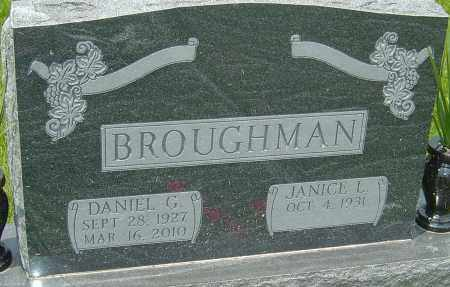BROUGHMAN, DANIEL G - Franklin County, Ohio | DANIEL G BROUGHMAN - Ohio Gravestone Photos