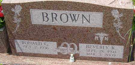 BROWN, BEVERLY K - Franklin County, Ohio | BEVERLY K BROWN - Ohio Gravestone Photos
