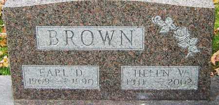 BROWN, EARL - Franklin County, Ohio | EARL BROWN - Ohio Gravestone Photos