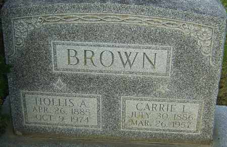 BROWN, HOLLIS - Franklin County, Ohio | HOLLIS BROWN - Ohio Gravestone Photos