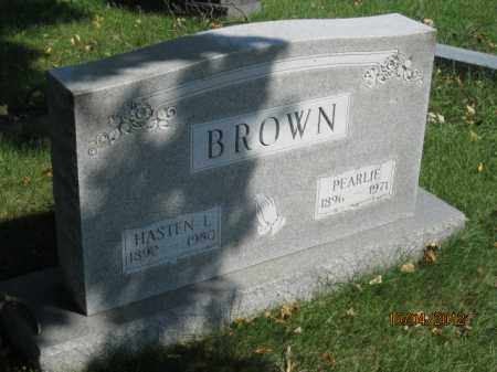 BROWN, PEARLIE - Franklin County, Ohio | PEARLIE BROWN - Ohio Gravestone Photos