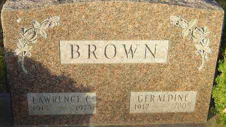 BROWN, GERALDINE - Franklin County, Ohio | GERALDINE BROWN - Ohio Gravestone Photos