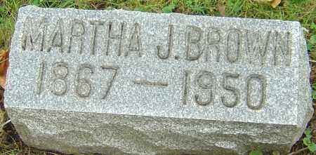 GUESS BROWN, MARTHA JANE - Franklin County, Ohio | MARTHA JANE GUESS BROWN - Ohio Gravestone Photos