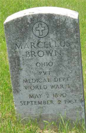 BROWN, MARCELLUS - Franklin County, Ohio | MARCELLUS BROWN - Ohio Gravestone Photos