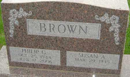 BROWN, PHILIP G - Franklin County, Ohio | PHILIP G BROWN - Ohio Gravestone Photos