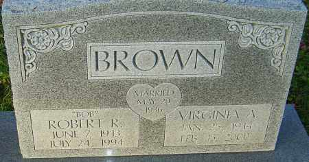 BROWN, ROBERT - Franklin County, Ohio | ROBERT BROWN - Ohio Gravestone Photos