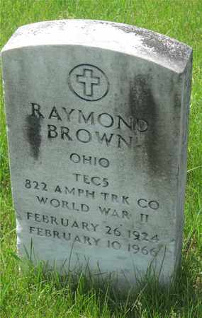 BROWN, RAYMOND - Franklin County, Ohio | RAYMOND BROWN - Ohio Gravestone Photos