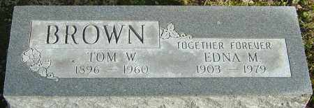 BROWN, EDNA M - Franklin County, Ohio | EDNA M BROWN - Ohio Gravestone Photos