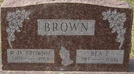 BROWN, BEA E - Franklin County, Ohio | BEA E BROWN - Ohio Gravestone Photos