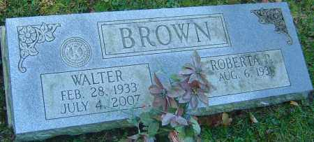 BROWN, WALTER - Franklin County, Ohio | WALTER BROWN - Ohio Gravestone Photos