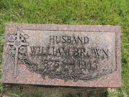 BROWN, WILLIAM - Franklin County, Ohio | WILLIAM BROWN - Ohio Gravestone Photos