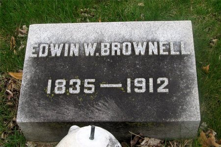 BROWNELL, EDWIN W. - Franklin County, Ohio | EDWIN W. BROWNELL - Ohio Gravestone Photos