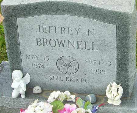 BROWNELL, JEFFREY N - Franklin County, Ohio | JEFFREY N BROWNELL - Ohio Gravestone Photos