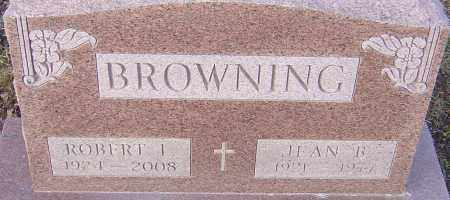 BROWNING, JEAN - Franklin County, Ohio | JEAN BROWNING - Ohio Gravestone Photos