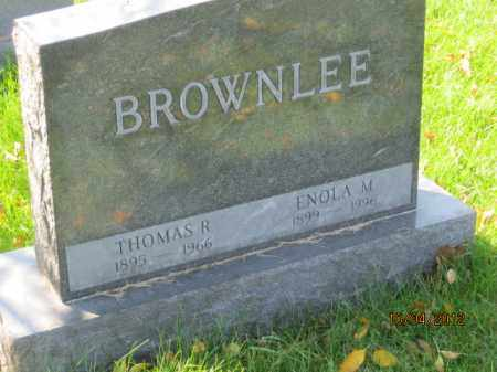 BROWNLEE, THOMAS RAYMOND - Franklin County, Ohio | THOMAS RAYMOND BROWNLEE - Ohio Gravestone Photos