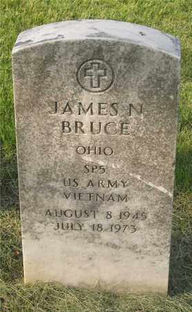 BRUCE, JAMES N. - Franklin County, Ohio | JAMES N. BRUCE - Ohio Gravestone Photos