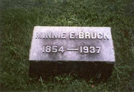 ARCHENBAULT BRUCK, MINNIE - Franklin County, Ohio | MINNIE ARCHENBAULT BRUCK - Ohio Gravestone Photos