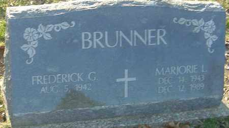 BRUNNER, MARJORIE L - Franklin County, Ohio | MARJORIE L BRUNNER - Ohio Gravestone Photos