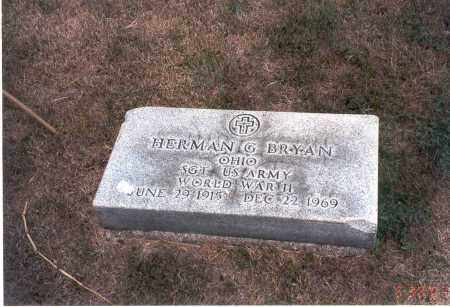 BRYAN, HERMAN G. - Franklin County, Ohio | HERMAN G. BRYAN - Ohio Gravestone Photos