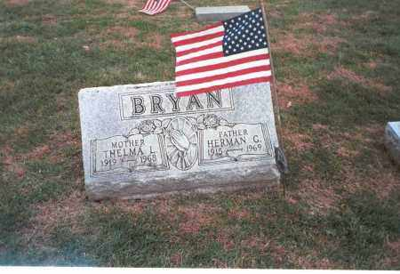 BRYAN, HERMAN - Franklin County, Ohio | HERMAN BRYAN - Ohio Gravestone Photos
