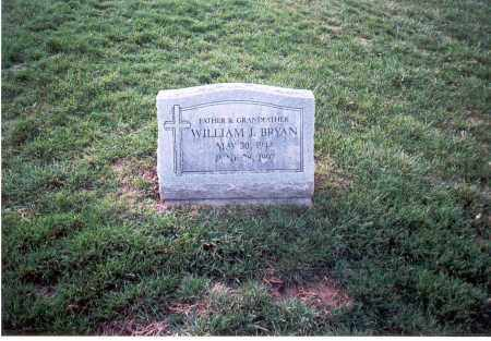BRYAN, WILLIAM J. - Franklin County, Ohio | WILLIAM J. BRYAN - Ohio Gravestone Photos