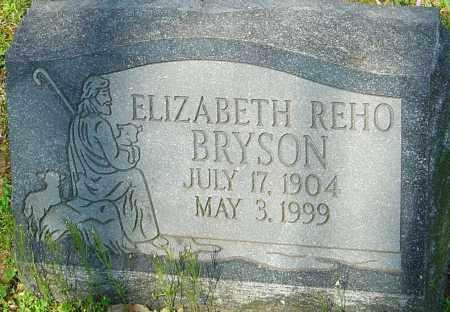 REHO BRYSON, ELIZABETH - Franklin County, Ohio | ELIZABETH REHO BRYSON - Ohio Gravestone Photos