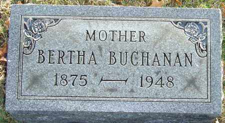 STREETS BUCHANAN, BERTHA - Franklin County, Ohio | BERTHA STREETS BUCHANAN - Ohio Gravestone Photos