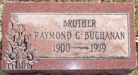 BUCHANAN, RAYMOND G - Franklin County, Ohio | RAYMOND G BUCHANAN - Ohio Gravestone Photos