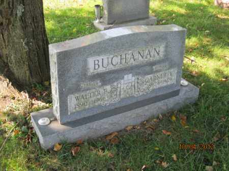 BUCHANAN, WALTER EDWARD - Franklin County, Ohio | WALTER EDWARD BUCHANAN - Ohio Gravestone Photos