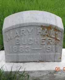 HALL BUCHER, MARY - Franklin County, Ohio | MARY HALL BUCHER - Ohio Gravestone Photos