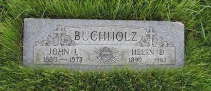 BUCHHOLZ, HELEN D. - Franklin County, Ohio | HELEN D. BUCHHOLZ - Ohio Gravestone Photos