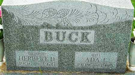 BUCK, HERBERT DARREL - Franklin County, Ohio | HERBERT DARREL BUCK - Ohio Gravestone Photos