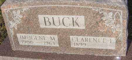 BUCK, IMOGENE M - Franklin County, Ohio | IMOGENE M BUCK - Ohio Gravestone Photos