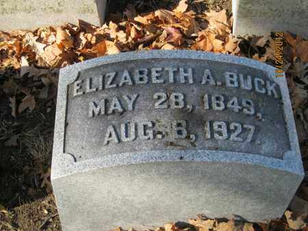 "TAYLOR BUCK, ELIZABETH ANNE ""LIBBIE"" - Franklin County, Ohio 