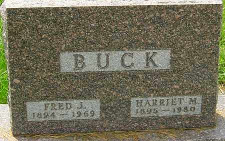 BUCK, FRED J - Franklin County, Ohio | FRED J BUCK - Ohio Gravestone Photos