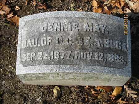 BUCK, JENNIE MAY - Franklin County, Ohio | JENNIE MAY BUCK - Ohio Gravestone Photos