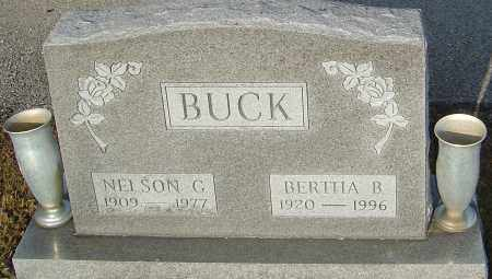 BUCK, BERTHA B - Franklin County, Ohio | BERTHA B BUCK - Ohio Gravestone Photos