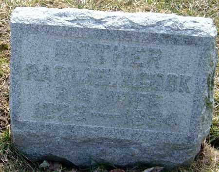 BUCK, RACHEL M - Franklin County, Ohio | RACHEL M BUCK - Ohio Gravestone Photos