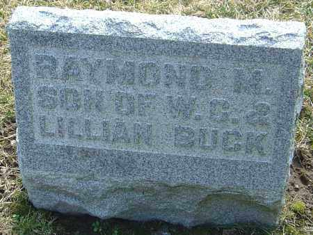 BUCK, RAYMOND M - Franklin County, Ohio | RAYMOND M BUCK - Ohio Gravestone Photos