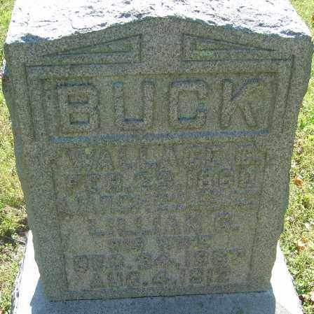 BUCK, WALLACE COLE - Franklin County, Ohio | WALLACE COLE BUCK - Ohio Gravestone Photos
